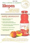 Take care for your health with good taste! LycoLife<sup>&reg;</sup>, the lycopene drink for health and beauty. 100% natural. Refreshing taste of fresh fruits. www.lycolife.pl